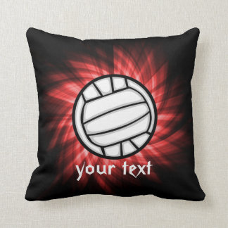 Volleyball; Red Pillow