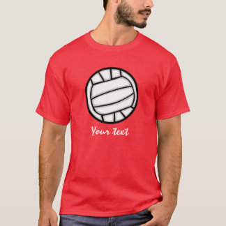Volleyball; Red T-Shirt