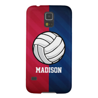 Volleyball; Red, White, and Blue Galaxy S5 Case