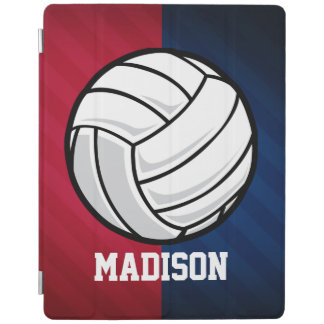 Volleyball; Red, White, and Blue iPad Smart Cover