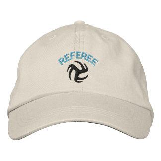 Volleyball Referee Cap - blue ref