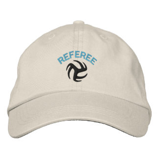 Volleyball Referee Cap - blue ref