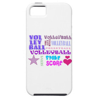 Volleyball Repeating iPhone SE/5/5s Case