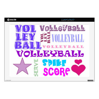 Volleyball Repeating Laptop Skin