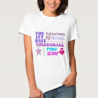 Volleyball Repeating Tee Shirt