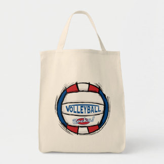 Volleyball Rocks Canvas Bags