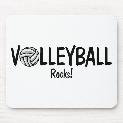 Volleyball Rocks Mouse Mats