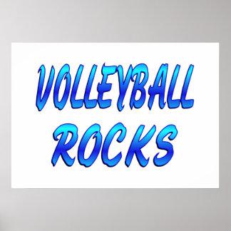 VOLLEYBALL ROCKS PRINT