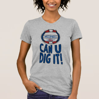 Volleyball Rocks T Shirt