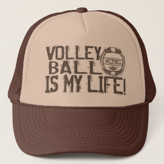 Volleyball Rocks Trucker Hat