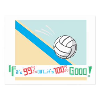 Volleyball...Rules! Postcard