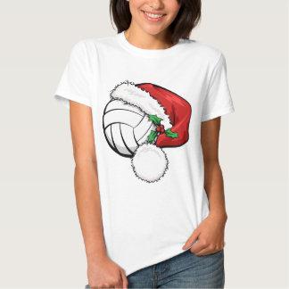 Volleyball Santa Cap Shirt