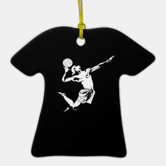 Volleyball Serve 2 Ornaments