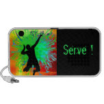 Volleyball Service Fireworks Travelling Speakers
