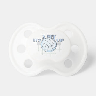 Volleyball Set Up Baby Pacifiers