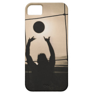 Volleyball Silhouette iPhone SE/5/5s Case