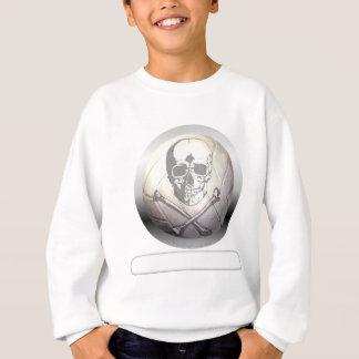Volleyball Skull and Crossbones Sweatshirt