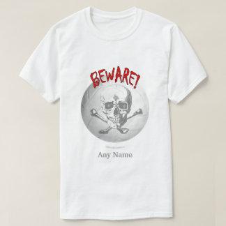 Volleyball Skull T Shirt