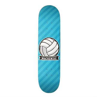 Volleyball; Sky Blue Stripes Skateboards