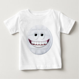 Volleyball Smiley Face 2 Baby T-Shirt