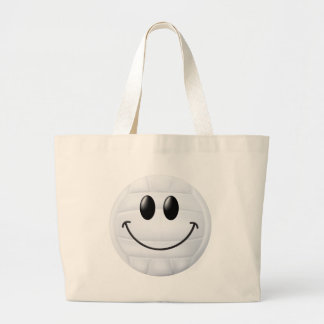 Volleyball Smiley Face Bag