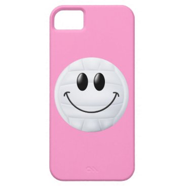 Beach Themed Volleyball Smiley Face iPhone SE/5/5s Case