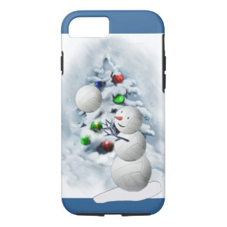 Volleyball Snowman Christmas iPhone 8/7 Case