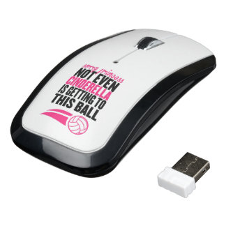 Volleyball: Sorry Princess Ball Wireless Mouse