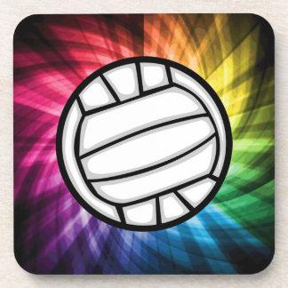 Volleyball; Spectrum Beverage Coaster