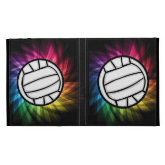 Volleyball Spectrum iPad Folio Cover