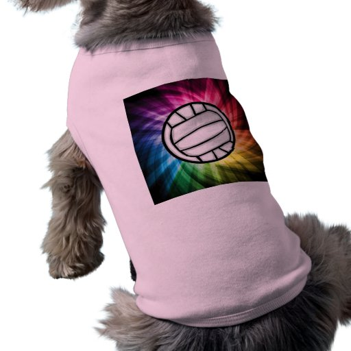 Volleyball; Spectrum Dog Shirt