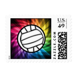 Volleyball; Spectrum Postage Stamps