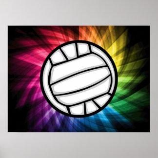 Volleyball; Spectrum Poster