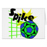 Volleyball Spike Card