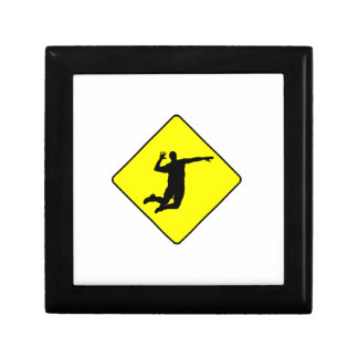 Volleyball Spike Crossing Sign Gift Boxes
