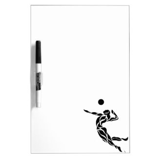 Volleyball Spike Dry-Erase Board