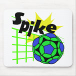 Volleyball Spike Mouse Pads