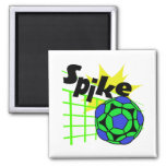 Volleyball Spike Refrigerator Magnets