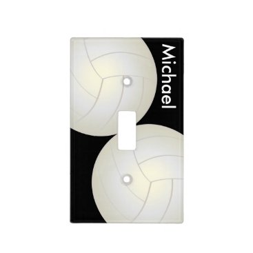designsbydonnasiggy Volleyball Sport Style | DIY Name Light Switch Cover