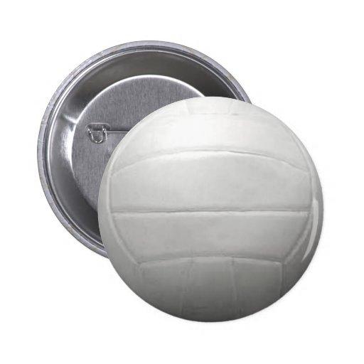 VOLLEYBALL SPORTS FUN BEACH SUMMER BALLS GRAPHICS PINBACK BUTTON