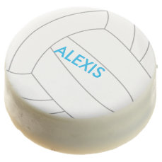 Volleyball Sports Themed Birthday Chocolate Covered Oreo