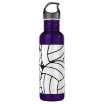 Volleyball Stainless Steel Water Bottle