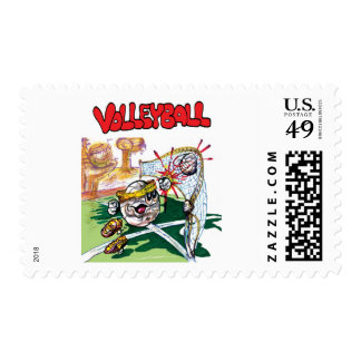 Volleyball stamp