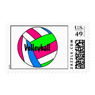 Volleyball, Stamp