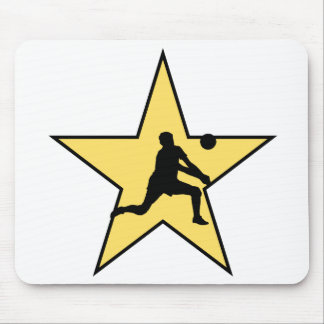Volleyball Star Mouse Pad