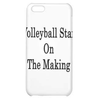 Volleyball Star On The Making iPhone 5C Cover