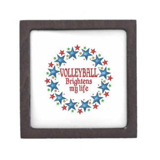 Volleyball Stars Keepsake Box