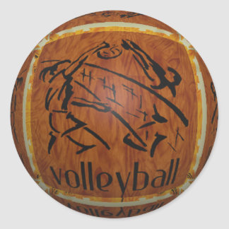 VOLLEYBALL Stickers