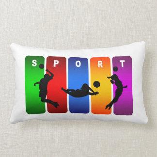 Volleyball Super Cool Sport Design Lumbar Pillow