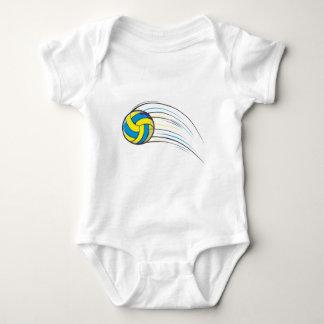 Volleyball Swish Baby Bodysuit